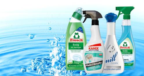 Środki czystości do domu